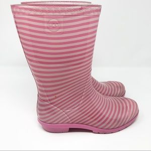 Ugg Striped Rubber Rainboots